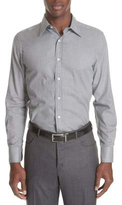 Canali Classic Fit Geometric Dress Shirt