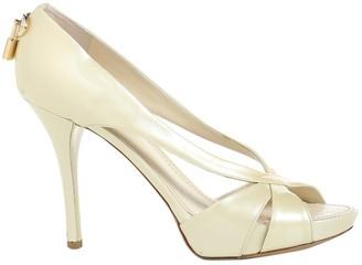 Louis Vuitton Beige Patent leather Sandals