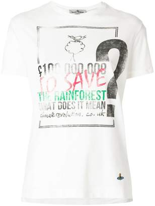 Vivienne Westwood rainforest print T-shirt
