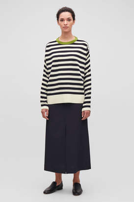 7ccc5248a708 Navy And White Striped Jumper - ShopStyle UK