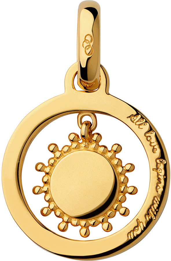 Links Of London Links Of London Mother's Say 18ct yellow gold vermeil sun charm