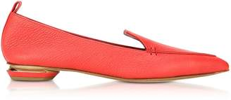 Nicholas Kirkwood Beya Poppy Red Leather Loafer