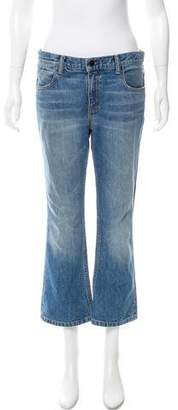 Alexander Wang Denim x Mid-Rise Cropped Jeans