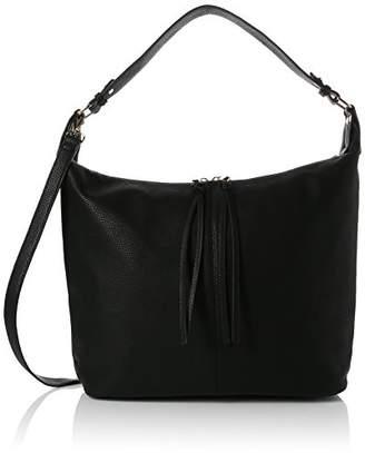 Dorothy Perkins Womens Double Zip Hobo Shoulder Bag