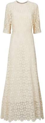 Mansur Gavriel Guipure Lace Gown