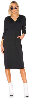 Dr. Denim Ivy Hood Dress