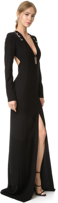 Mugler Long Sleeve Gown $3,320 thestylecure.com