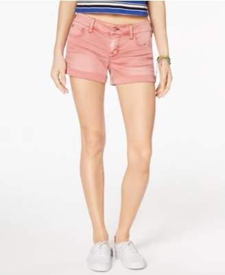 """Celebrity Pink Juniors' 3"""" Cuffed Denim Shorts"""