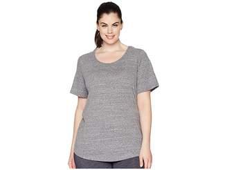 Aventura Clothing Plus Size Dharma Short Sleeve Top Women's Clothing