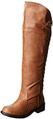 Qupid Women's Relax-128X Riding Boot