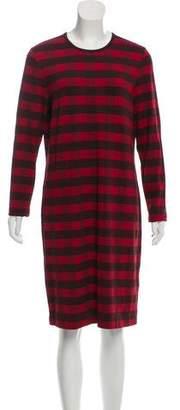 Derek Lam Knee-Length Long Sleeve Dress