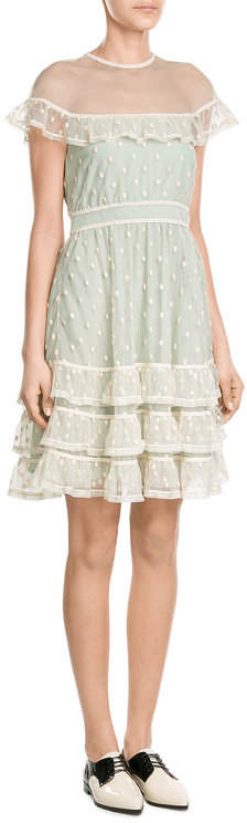 RED Valentino R.E.D. Valentino Dress with Polka-Dot Tulle