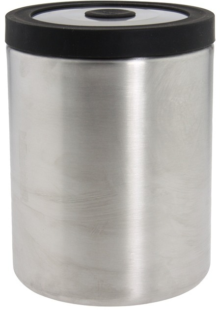 OXO Steel Press Top Canister 2.2 Quart (Steel) - Home