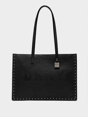 DKNY Commuter Large Microstud Tote