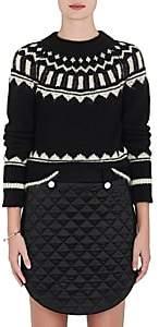 Nordic The RERACS Women's Mohair-Blend Sweater - Black