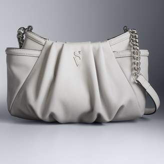 Vera Wang Simply Vera Morris Pleated Crossbody Bag