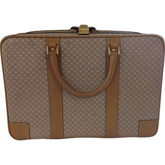 Celine Beige Leather Travel bag
