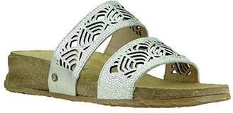 Haflinger Women's TS Grace Champagne Flat Sandal