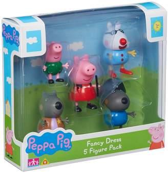 Teletubbies Peppa Pig Dress-Up 5 Figure Pack