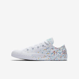 Nike Converse Chuck Taylor All Star Birthday Confetti Low Top Girls Shoe