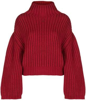Lanvin oversized turtle-neck sweater