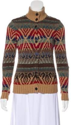 Lauren Ralph Lauren Knit Printed Cardigan