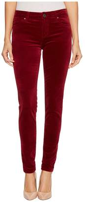 KUT from the Kloth Mia Toothpick Skinny in Red Women's Jeans