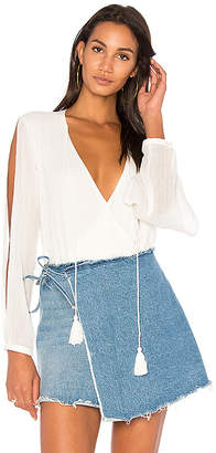 THE JETSET DIARIES Cape Town Bodysuit in White $149 thestylecure.com