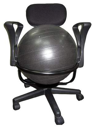 Symple Stuff High Back Exercise Ball Chair