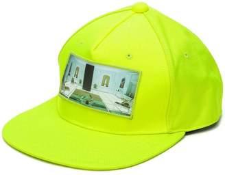 Undercover photographic print cap