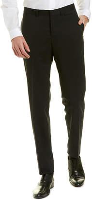 Z Zegna Narrow Wool-Blend Trouser