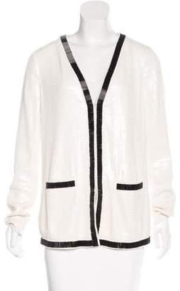 Rachel Zoe Sequin Embellished Jacket