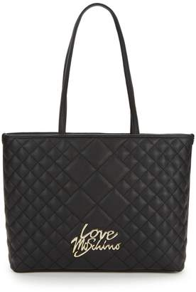 Love Moschino Love Quilted Tote