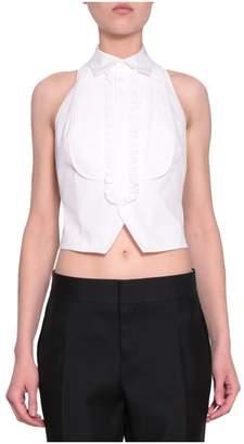 DSQUARED2 Cotton Plastron Vest