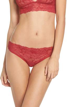 Samantha Chang All Lace Glamour Lace Thong
