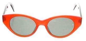 Rag & Bone Cat-Eye Acetate Sunglasses