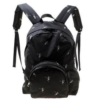 Alexander McQueen Black Synthetic Backpacks