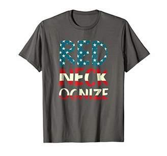 Redneckognize Funny Redneck Tee Shirt