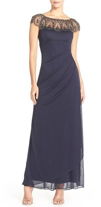 Women's Xscape Ruched Jersey Gown $208 thestylecure.com