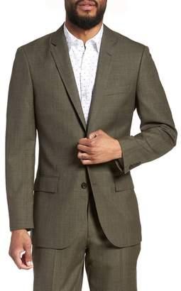 J.Crew J. CREW Ludlow Trim Fit Herringbone Wool Sport Coat