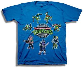 Novelty T-Shirts Tmnt Short Sleeve Tees Boys Crew Neck Short Sleeve Teenage Mutant Ninja Turtles Graphic T-Shirt-Big Kid