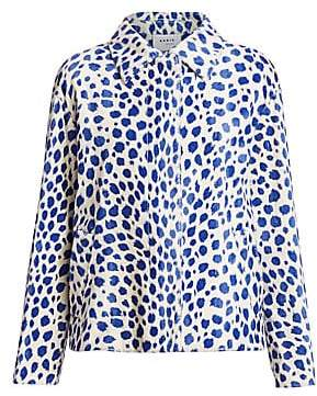 Akris Punto Women's Animal Dot Jacket