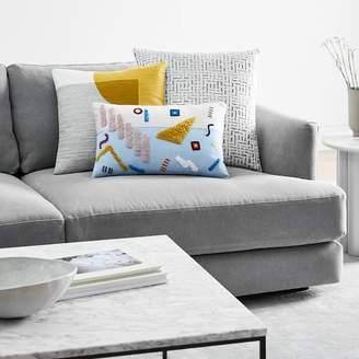 west elm Playful Patterns + Pops of Color Pillow Set