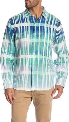 Tommy Bahama Okeechobee Ombre Breezer Linen Shirt