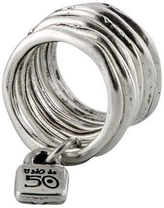 Uno de 50 Stacked Lock Ring