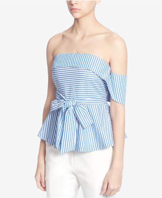 Catherine Malandrino Cotton Strapless Top