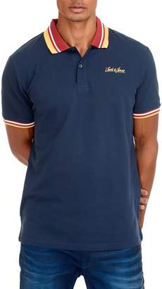 Jack and Jones Short Sleeve Logo Polo Shirt