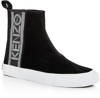 Kenzo Women's Suede High Top Sneakers