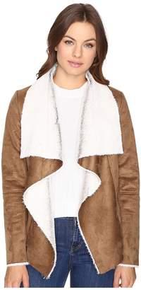 BB Dakota Bourne Faux Suede Jacket Women's Coat