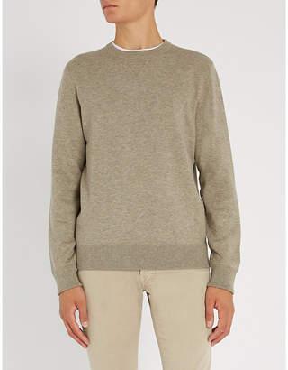 Corneliani Crewneck cotton-blend sweatshirt